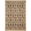 Graphic Illusions Light Gold Area Rug