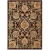 Graphic Illusions Chocolate Area Rug