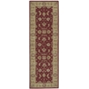"Nourison Heritage Hall Runner Rug  By Nourison, Lacquer, 2'6"" X 8'"