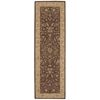 "Nourison Heritage Hall Runner Rug  By Nourison, Brown, 2'6"" X 8'"