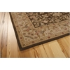 "Nourison Heritage Hall Rectangle Rug  By Nourison, Brown, 5'6"" X 8'6"""