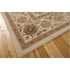 "Nourison Heritage Hall Rectangle Rug  By Nourison, Ivory, 7'9"" X 9'9"""