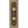 "Heritage Hall Runner Rug By, Black, 2'6"" X 8'"