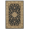 "Heritage Hall Rectangle Rug By, Black, 3'9"" X 5'9"""