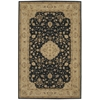 "Nourison Heritage Hall Rectangle Rug  By Nourison, Black, 5'6"" X 8'6"""