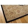 "Nourison Heritage Hall Rectangle Rug  By Nourison, Black, 7'9"" X 9'9"""