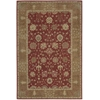 "Heritage Hall Rectangle Rug By, Brick, 5'6"" X 8'6"""