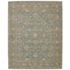 Heritage Hall Aqua Area Rug
