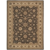 "Nourison Heritage Hall Rectangle Rug  By Nourison, Sable, 8'6"" X 11'6"""