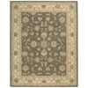 "Nourison Heritage Hall Rectangle Rug  By Nourison, Slate, 7'9"" X 9'9"""