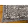 "Heritage Hall Rectangle Rug By, Steel, 7'9"" X 9'9"""