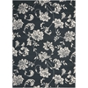 Home & Garden Black Indoor/Outdoor Area Rug