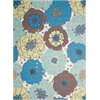 Home & Garden Light Blue Indoor/Outdoor Area Rug