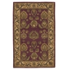 "India House Rectangle Rug By, Burgundy, 3'6"" X 5'6"""