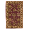 India House Burgundy Area Rug