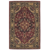 "India House Rectangle Rug By, Rust, 3'6"" X 5'6"""