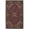 India House Rectangle Rug By, Rust, 5' X 8'