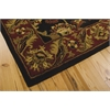 India House Rectangle Rug By, Black, 5' X 8'