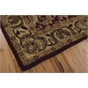 India House Rectangle Rug By, Burgundy, 5' X 8'