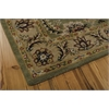 Nourison India House Rectangle Rug  By Nourison, Green, 5' X 8'