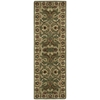 India House Green Area Rug