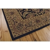 Nourison India House Rectangle Rug  By Nourison, Black, 5' X 8'