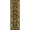 "India House Runner Rug By, Green, 2'3"" X 7'6"""