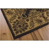 India House Rectangle Rug By, Green, 5' X 8'