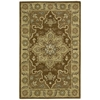 "India House Rectangle Rug By, Chocolate, 3'6"" X 5'6"""
