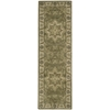 "Nourison India House Runner Rug  By Nourison, Olive, 2'3"" X 7'6"""
