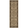 "Nourison India House Runner Rug  By Nourison, Taupe, 2'3"" X 7'6"""