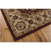 Nourison India House Rectangle Rug  By Nourison, Red, 5' X 8'