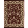 India House Rectangle Rug By, Red, 8' X 10'6""