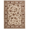 India House Rectangle Rug By, Ivory, 8' X 10'6""