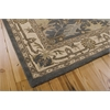 Nourison India House Rectangle Rug  By Nourison, Blue, 5' X 8'