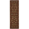 "Nourison India House Runner Rug  By Nourison, Brick, 2'3"" X 7'6"""