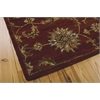 India House Rectangle Rug By, Brick, 5' X 8'