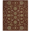Nourison India House Rectangle Rug  By Nourison, Brick, 8' X 10'6""