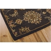 Nourison India House Rectangle Rug  By Nourison, Charcoal, 5' X 8'