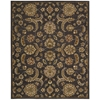 India House Rectangle Rug By, Charcoal, 8' X 10'6""