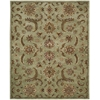 Nourison India House Rectangle Rug  By Nourison, Light Green, 8' X 10'6""