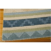 India House Rectangle Rug By, Blue Green, 5' X 8'