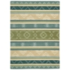 India House Blue Green Area Rug