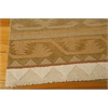 Nourison India House Rectangle Rug  By Nourison, Camel, 5' X 8'