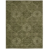 India House Rectangle Rug By, Green, 8' X 10'6""