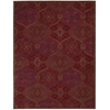 Nourison India House Rectangle Rug  By Nourison, Red, 8' X 10'6""