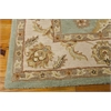 Nourison India House Rectangle Rug  By Nourison, Seafoam, 8' X 10'6""