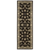 "Nourison India House Runner Rug  By Nourison, Black, 2'3"" X 7'6"""