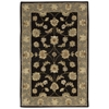 "India House Rectangle Rug By, Black, 3'6"" X 5'6"""