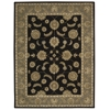 India House Rectangle Rug By, Black, 8' X 10'6""